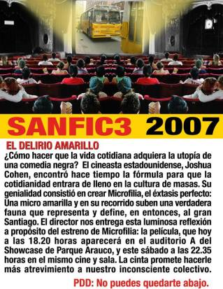 Microfilia Sanfic 2007